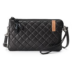 Donna Sharp Quilted Double Entry Organizer Wristlet