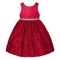 Girls 7-16 American Princess Wavy Ribbon Skirt Dress