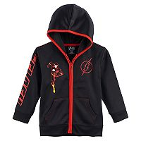 Boys 4-7 Marvel The Flash Zip Hoodie