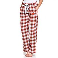 Women's Concepts Sport Cleveland Browns Forge Flannel Pants