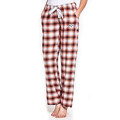 Women's Concepts Sport Denver Broncos Forge Flannel Pants