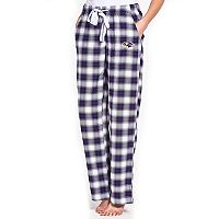 Women's Concepts Sport Baltimore Ravens Forge Flannel Pants