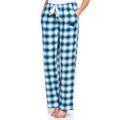 Women's Concepts Sport Carolina Panthers Forge Flannel Pants