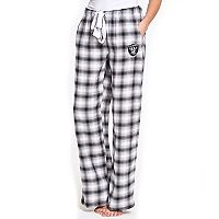 Women's Concepts Sport Oakland Raiders Forge Flannel Pants