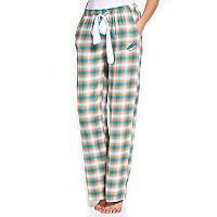 Women's Concepts Sport Miami Dolphins Forge Flannel Pants