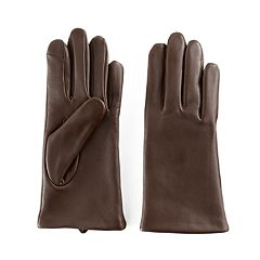 Women's Apt. 9® Fleece Lined Leather Tech Gloves