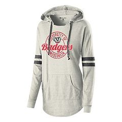 Women's Wisconsin Badgers Low Key Pullover Hoodie