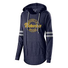 Women's Michigan Wolverines Low Key Pullover Hoodie