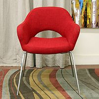 Baxton Studio Mid-Century Modern Accent Chair