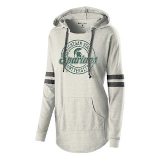Women's Michigan State Spartans Low Key Pullover Hoodie