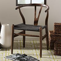 Baxton Studio Mid-Century Modern Dining Chair 2 pc Set