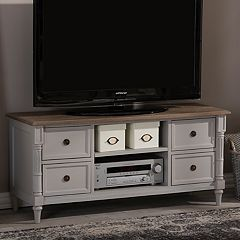 Baxton Studio Farmhouse Shabby Chic TV Stand