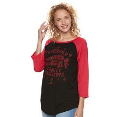 Juniors' National Lampoon's Christmas Vacation 'Griswold Family' Graphic Tee