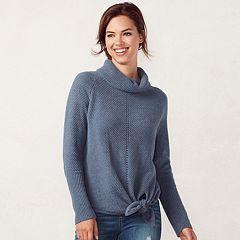 Women's LC Lauren Conrad Turtleneck Knot Sweater