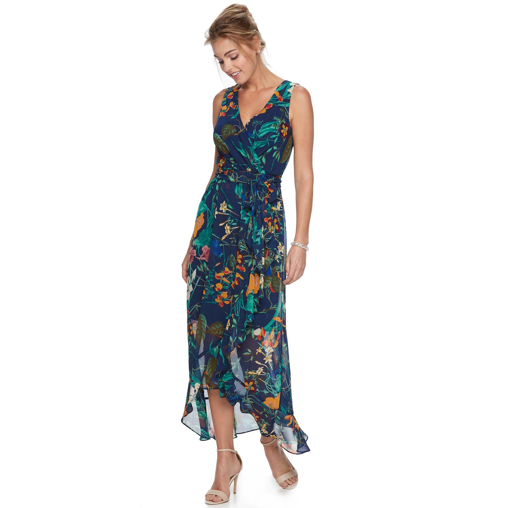 Chaya pintuck maxi dress