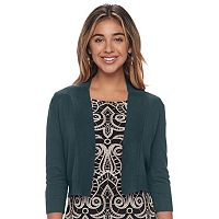 Women's Ronni Nicole Solid Shrug