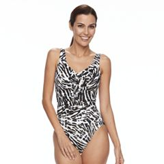 Women's Trimshaper Ruched One-Piece Swimsuit