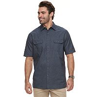 Big & Tall Croft & Barrow® Regular-Fit Outdoor Quick-Dry Button-Down Shirt