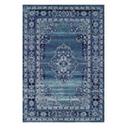 Couristan Vintage Center Medallion Framed Rug