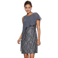 Women's Scarlett Lace Asymmetrical Popover Dress