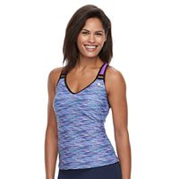 Women's ZeroXposur Space-Dye Tankini Top