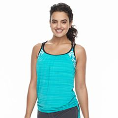 Women's ZeroXposur 2-in-1 Blouson Tankini Top
