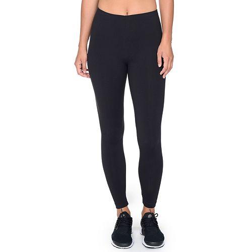 Danskin Womens DANSKIN Body Fit Ankle legging- Black