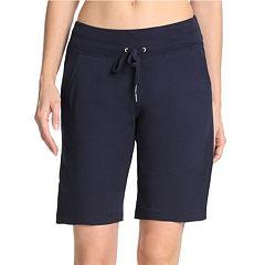 Women s Danskin High-Waisted Bermuda Shorts 7cfa394d032c