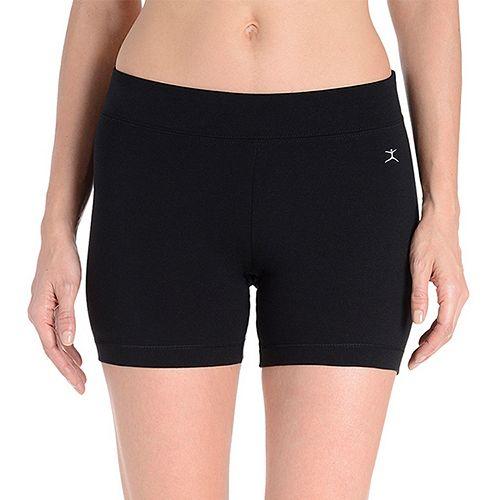 Women's Danskin Cotton-Blend Bike Shorts