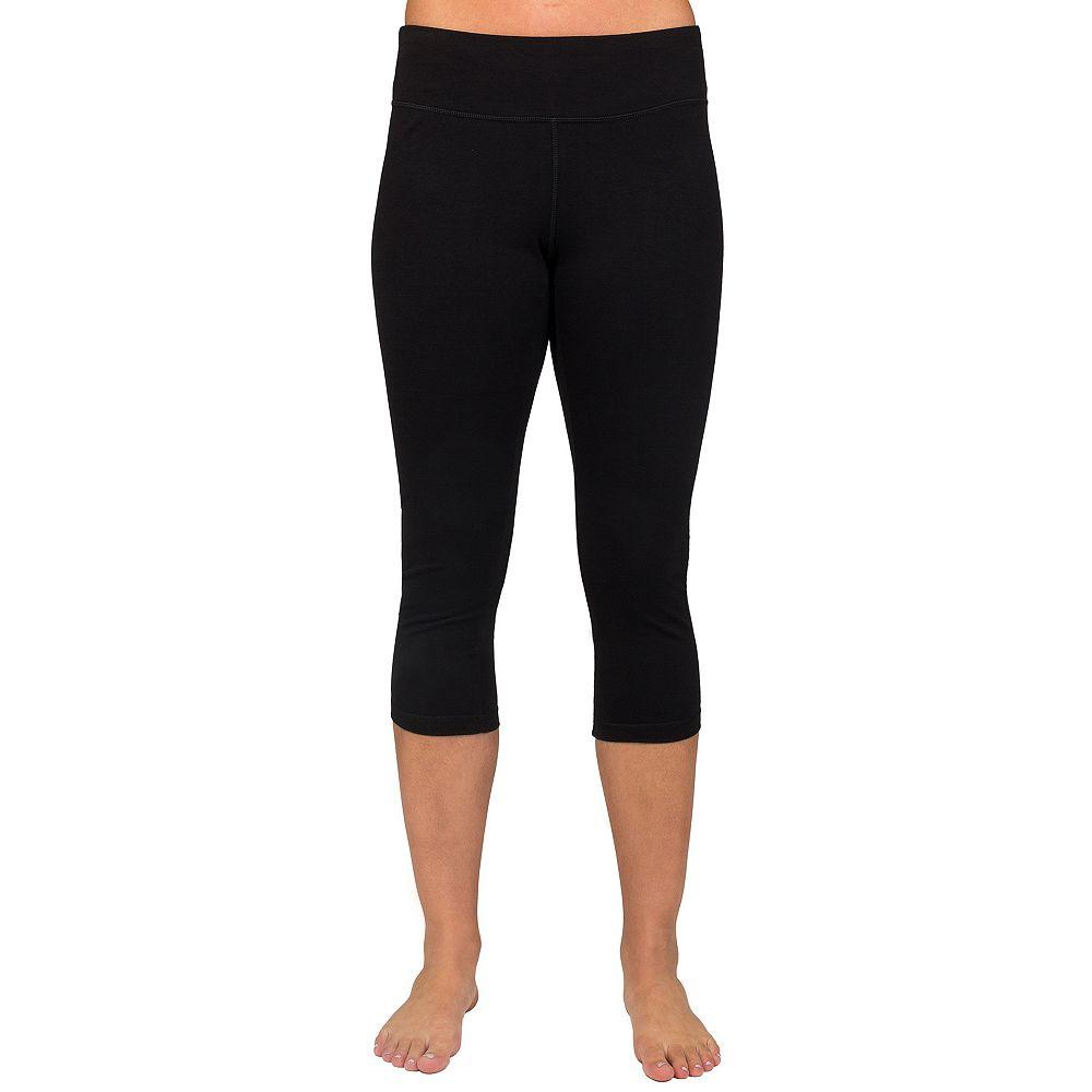 2ecda08401689 Women's Danskin Wide Waist Capri Leggings