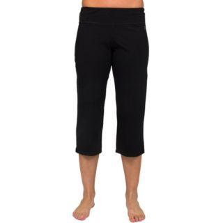 Women's Danskin Solid Stretch Capris