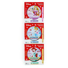 Disney's Ariel, Cinderella & Aurora Girls 4-16 Holiday Lip Balms Set by Lip Smacker