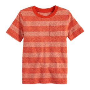 Baby Boy Jumping Beans® Striped Pocket Tee