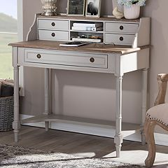 Baxton Studio Farmhouse Shabby Chic Desk