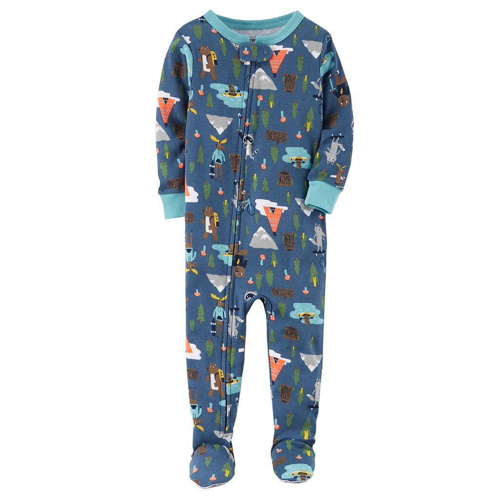 Baby Boy Carter's Printed Footed Pajamas