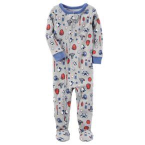 Baby Boy Carter's Printed Footed Pajamas
