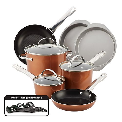 Farberware Luminescence 16-pc. Nonstick Cookware Set