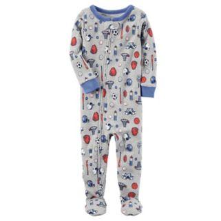 Toddler Boy Carter's Printed Footed Pajamas