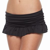 Women's Apt. 9® Solid Skirted Bikini Bottoms