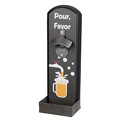 Wembley 'Pour, Favor' Wall Bottle Opener