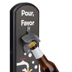 "Wembley ""Pour, Favor"" Wall Bottle Opener"