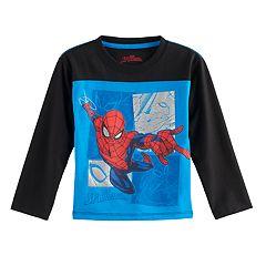 Toddler Boy Marvel Spider-Man Raglan Tee