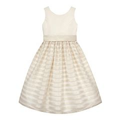 Girls 7-16 American Princess Striped Skirt Dress