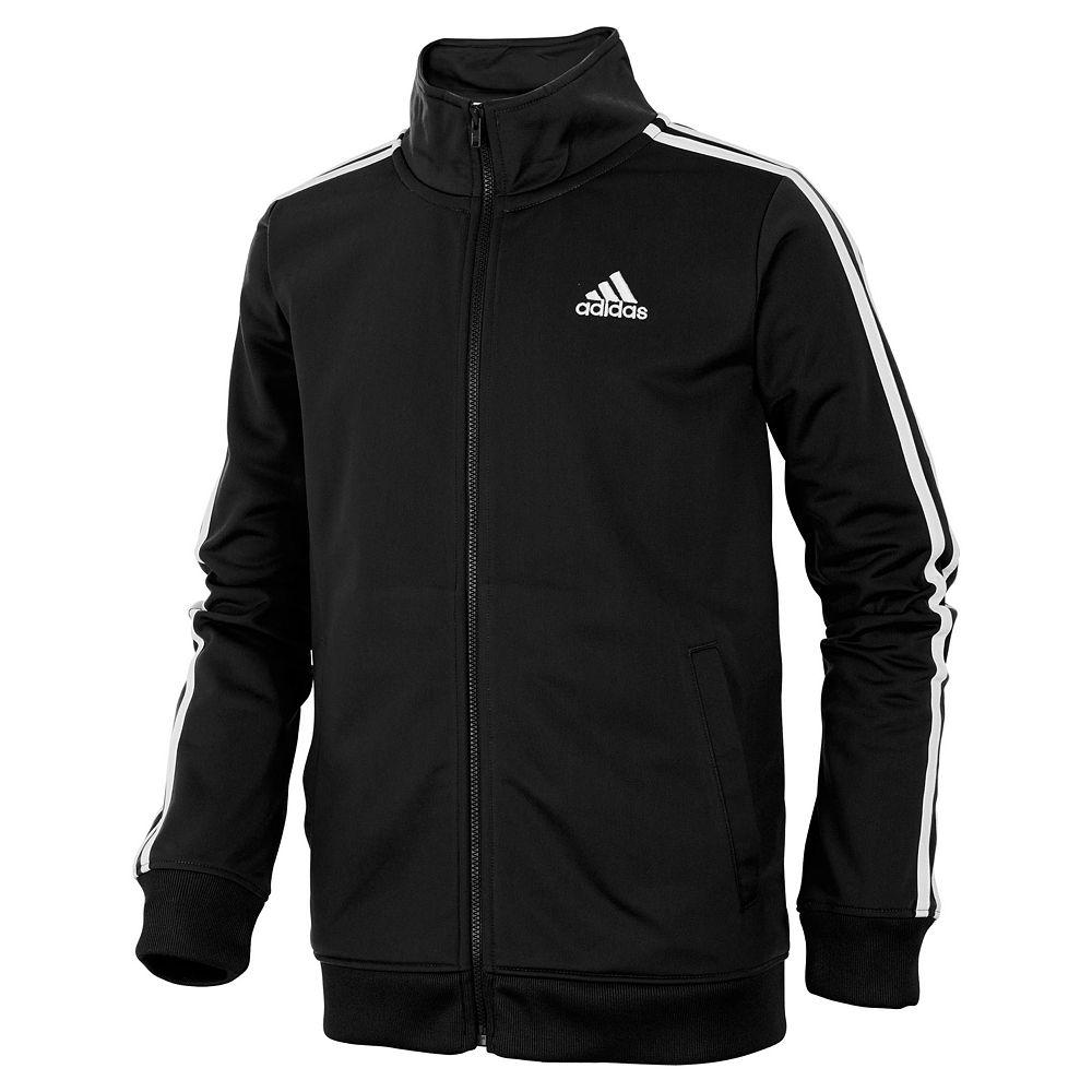 Boys 8-20 adidas Iconic Tricot Jacket