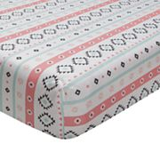 Lambs & Ivy Little Spirit Fitted Crib Sheet