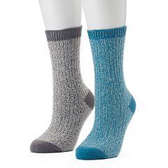 Women's Columbia 2-pk. Marled Crew Socks