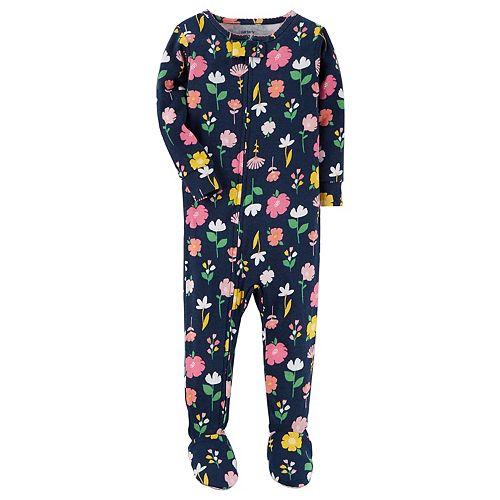 e38b6f06e14b Baby Girl Carter s Unicorn Footed Pajamas