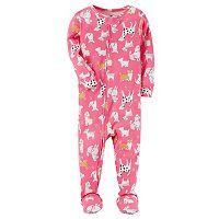 Baby Girl Carter's Unicorn Footed Pajamas