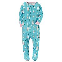 Baby Girl Carter's Unicorn Footed Pajamas