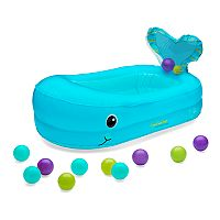 Infantino Whale Bubble Bath Inflatable Bath Tub